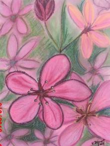 """""""fleurs"""" soft pastels"""